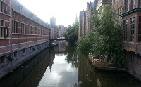 Canal in Ghent