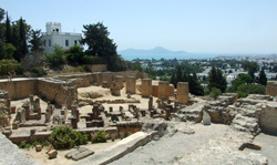 View from Carthage Museum