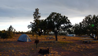 Payson camp site